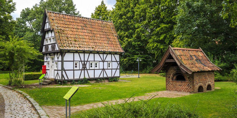 Grillhaus fachwerk mieten maximilianpark hamm for Ideales fachwerk