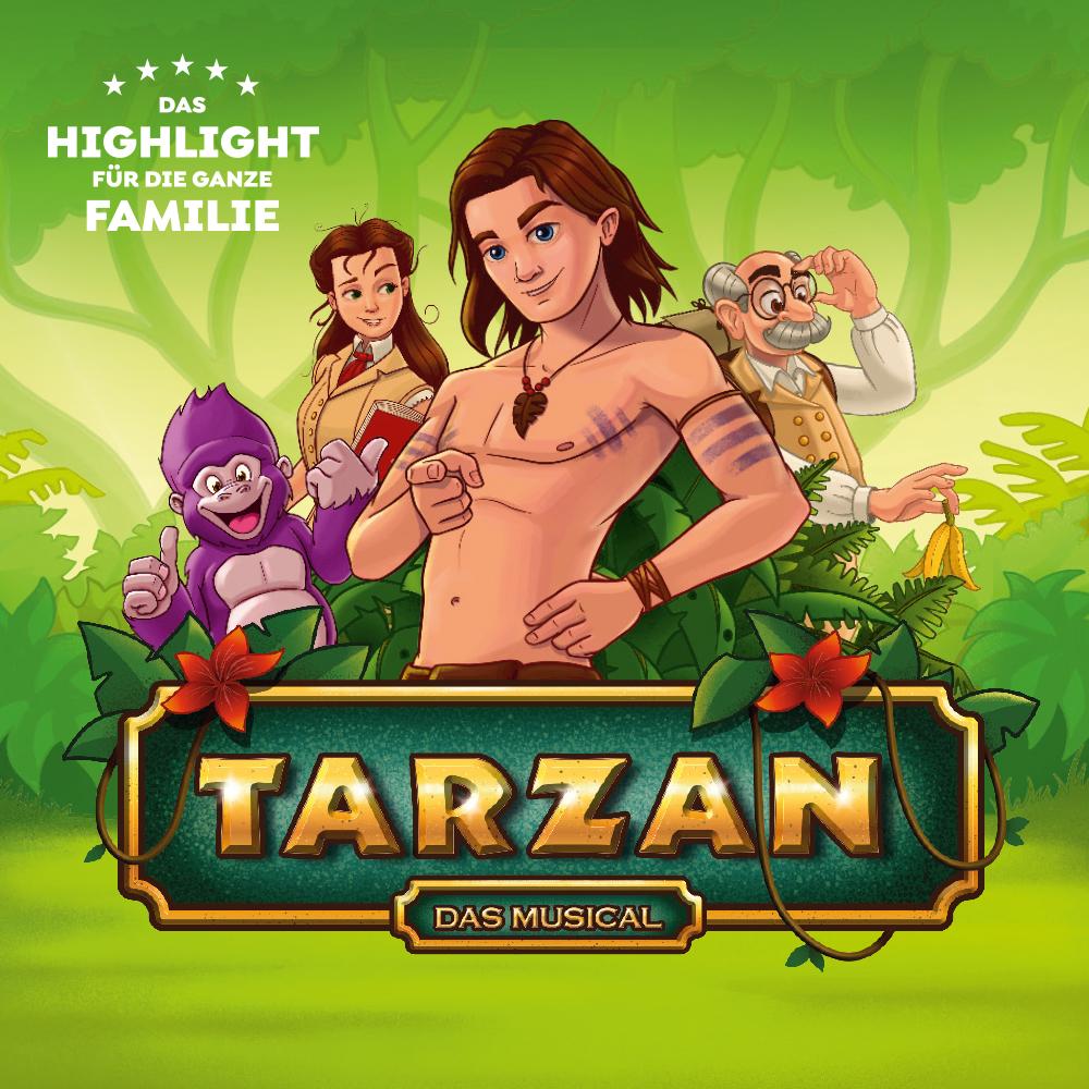 Bild zur Veranstaltung Theater Liberi  Tarzan  das Musical