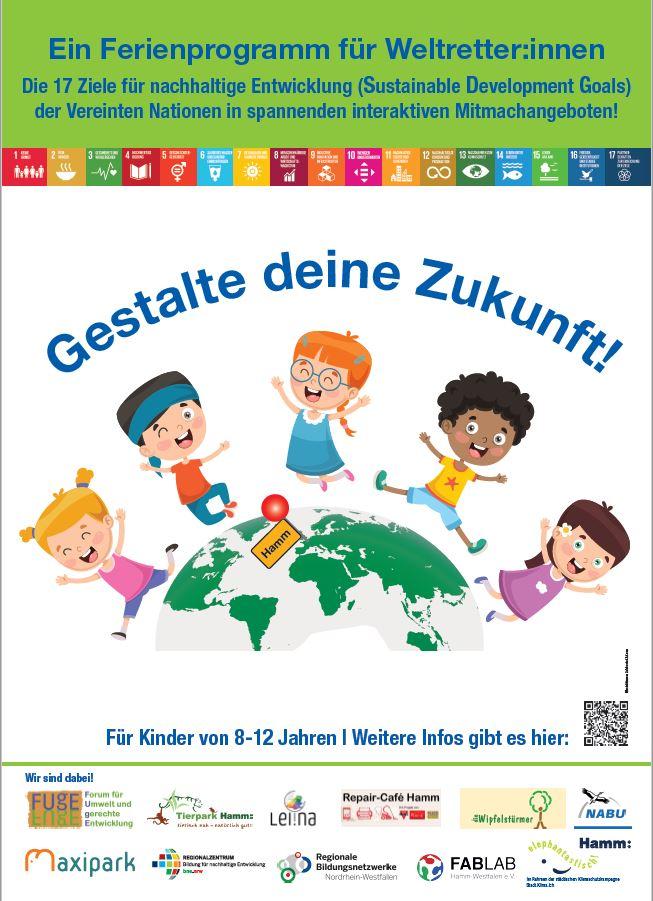 Bild zur Veranstaltung Weltretter:innen Ferienpogramm zu den Nachhaltigkeitsziel